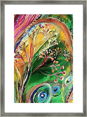 Artwork Fragment 48 Framed Print by Elena Kotliarker