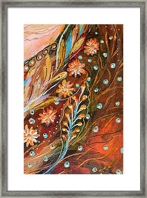 Artwork Fragment 49 Framed Print by Elena Kotliarker