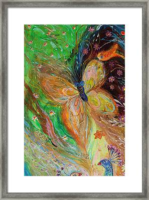 Artwork Fragment 50 Framed Print by Elena Kotliarker