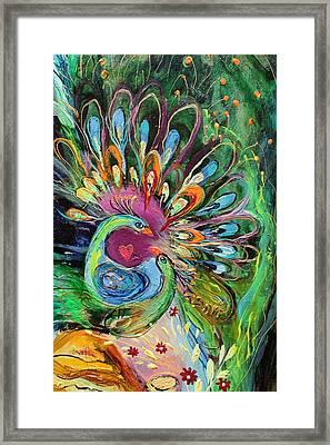 Artwork Fragment 51 Framed Print by Elena Kotliarker