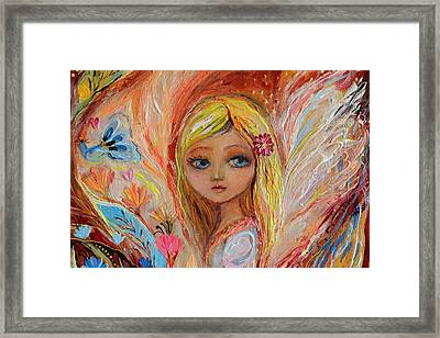 Artwork Fragment 55 Framed Print by Elena Kotliarker