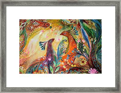 Artwork Fragment 57 Framed Print by Elena Kotliarker
