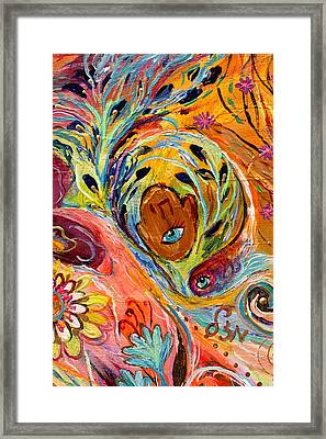 Artwork Fragment 58 Framed Print by Elena Kotliarker