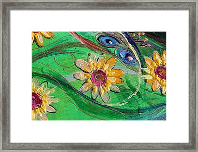 Artwork Fragment 67 Framed Print by Elena Kotliarker