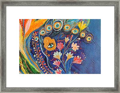 Artwork Fragment 79 Framed Print by Elena Kotliarker