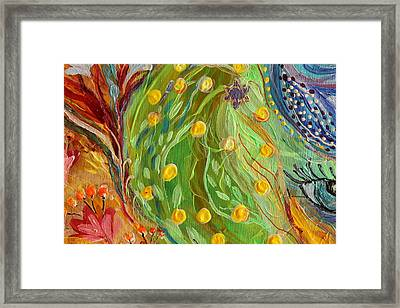 Artwork Fragment 81 Framed Print by Elena Kotliarker