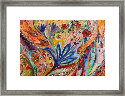 Artwork Fragment 94 Framed Print by Elena Kotliarker