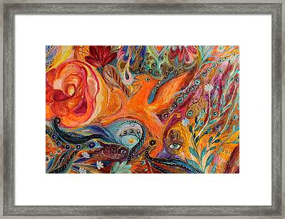 Artwork Fragment 99 Framed Print by Elena Kotliarker