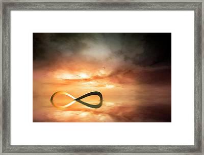 Artwork Of The Infinity Symbol Framed Print