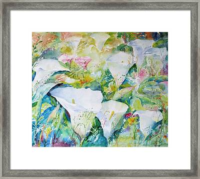 Arum Glade Framed Print
