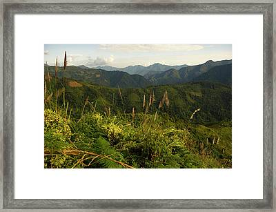 Arunachal Pradesh In North East India Framed Print by Jaina Mishra