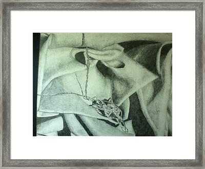 Arwen's Necklace Framed Print