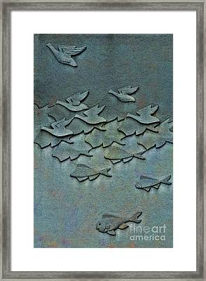 As Above So Below No. One Framed Print by Andrea Kollo