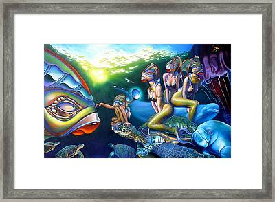 As Above So Below Framed Print by Patrick Anthony Pierson