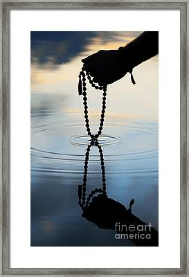 As Above So Below Framed Print by Tim Gainey