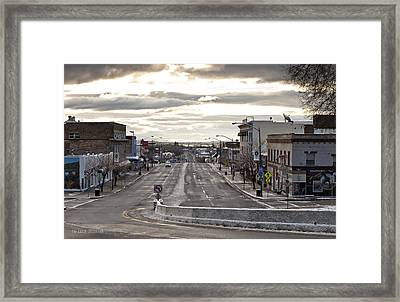 As Cold As It Looks Framed Print