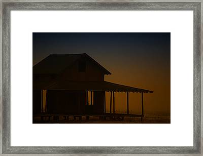 As Darkness Falls Framed Print by Karol Livote