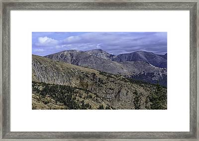 As Far As The Eye Can See Framed Print by Tom Wilbert