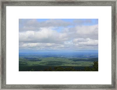 As Far As Your Eye Can See Framed Print by John Ricard jr