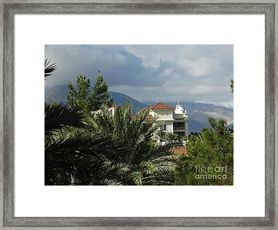 As Far As Your Eye Can See  Framed Print