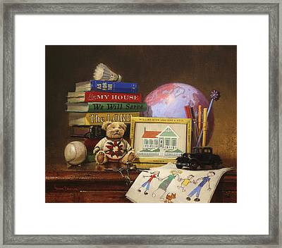As For Me And My House  2 Framed Print