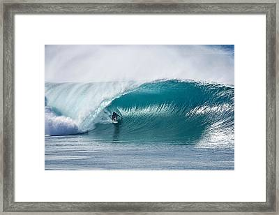 As Good As It Gets. Framed Print by Sean Davey
