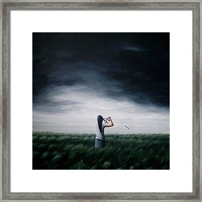 As I Let Go Of The Old Framed Print