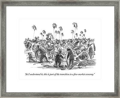 As I Understand Framed Print