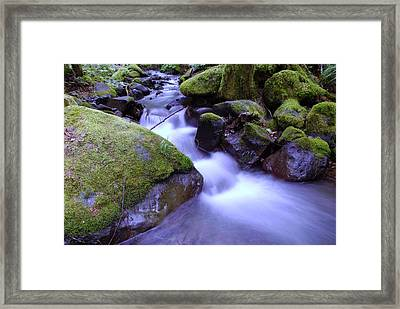 As If Heaven Was A Calmly Place Framed Print by Jeff Swan