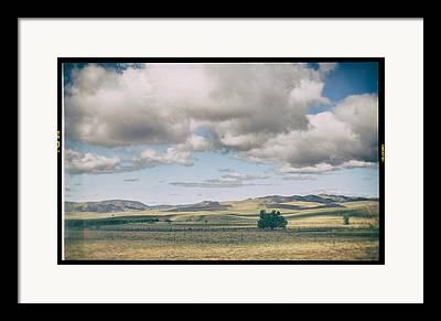 Open Land Framed Prints