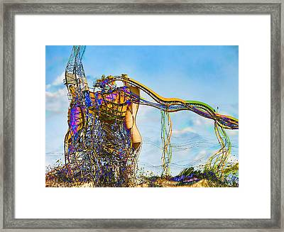 As Is Framed Print by Wendy J St Christopher