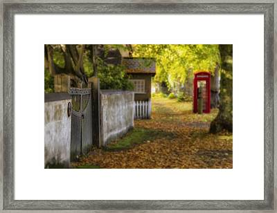 As It Is  As It Was  As It Always Will Be Framed Print