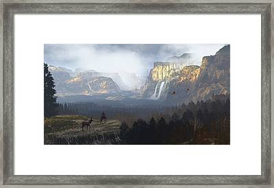 As It Was Meant To Be Framed Print by Dieter Carlton