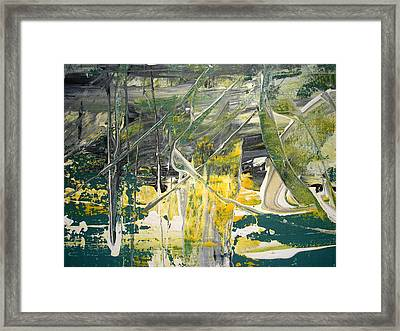 As Rivers Of Living Water Inside Framed Print by Lalo Gutierrez