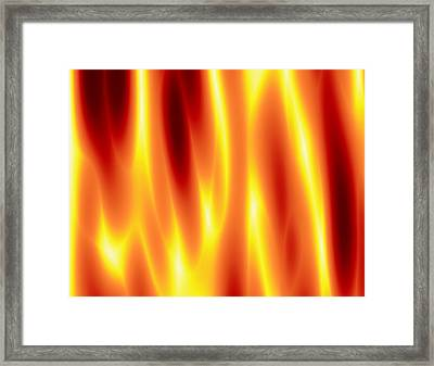 Framed Print featuring the digital art As Seen In Hell by Jeff Iverson