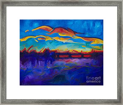 As The Day Begins Framed Print by Michael Ciccotello
