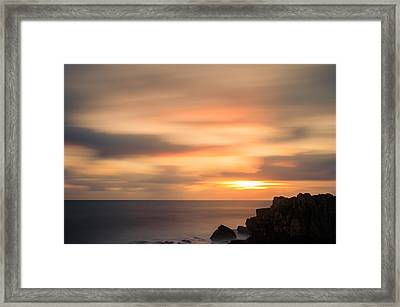 As The Day Fades Away I Framed Print
