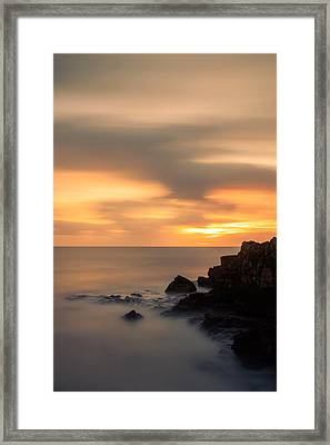 As The Day Fades Away II Framed Print