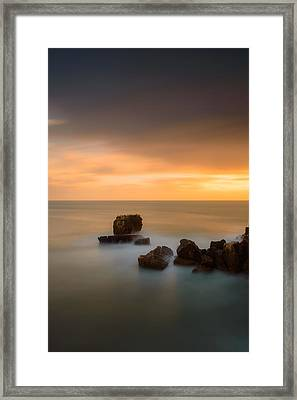 As The Day Fades Away IIi Framed Print