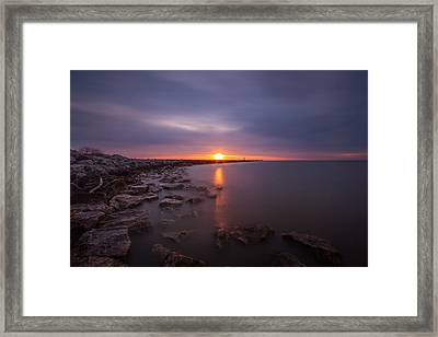 As The Light Shines Upon Us Framed Print by Daniel Chen