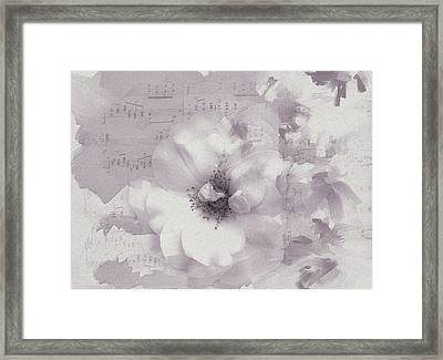 As The Music Fades Framed Print