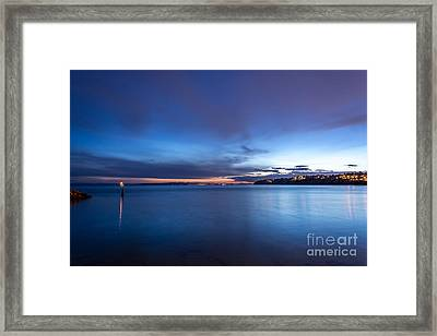 As The Night Sets In - By Sabine Edrissi Framed Print