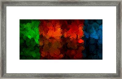 As The Seasons Turn Framed Print by Lourry Legarde
