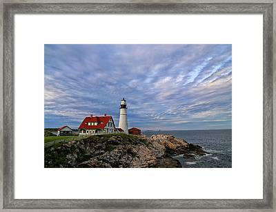As The Sky Reaches The Water Framed Print