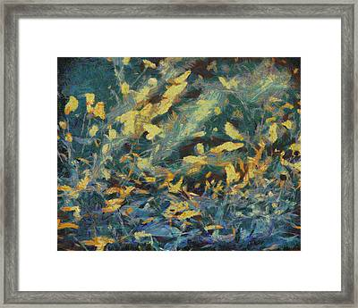 Framed Print featuring the painting As The Wind Blows by Joe Misrasi