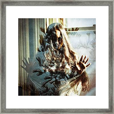 As The World Falls Down Framed Print