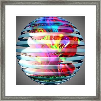 As The World Turns Framed Print by HollyWood Creation By linda zanini