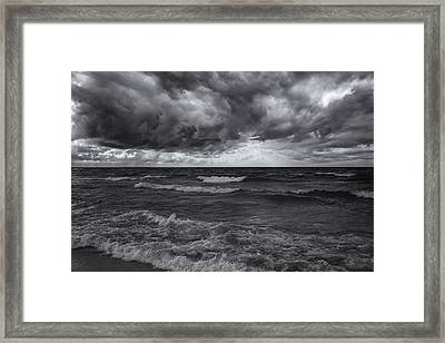 As The World Turns Mono Framed Print by Rachel Cohen