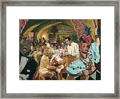 As Time Goes By Framed Print by Jo King