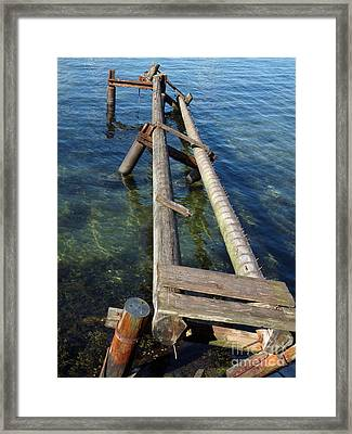 As Time Goes By Framed Print by Lutz Baar